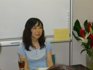 講師の志村ゆかりさん