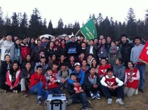 新モンゴル高校「ハイキング」