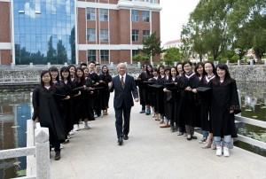 「澤田さん」(大学の卒業式で)