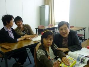 『日本語自習学習サポート」でターシャちゃん(インドネシア)と
