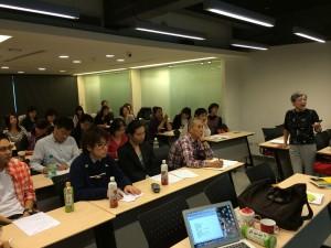 中国文化大学での講演会2013.11.23