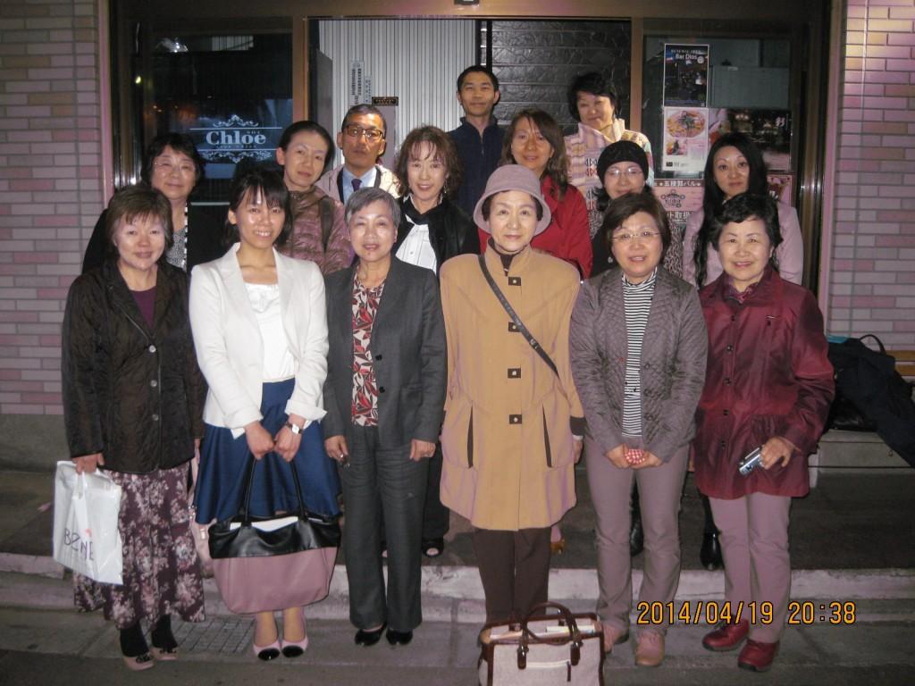 懇親会「彩り家」2014.4.19