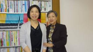 頼さんと(2013年6月、アクラスにて)