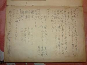 びっしりと書かれた日記