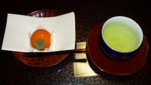 「柿の和菓子」に感動!