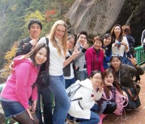 校外学習で昇仙峡に行きました。