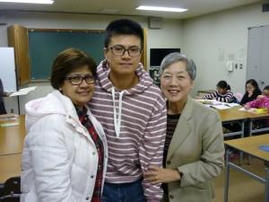 マリアさん、大路君と一緒に2015.3.15