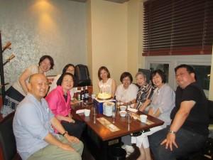 留学は叶いませんでしたが、古稀はソウルで、OPI仲間と迎えることができました。