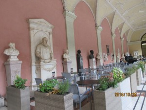 ウィーン大学1号館の廊下
