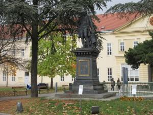 東アジア学科は旧総合病院を使っています。旧総合病院は18世紀にヨゼフ2世によって開設されました。