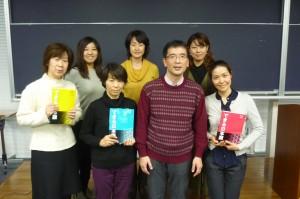 峯松さんとイーストウエスト日本語学校の先生方