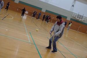 京都外大時代①「ブラインドテニスの体験会」
