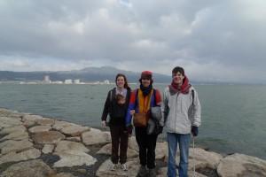 京都外大時代②「琵琶湖で(お姉さん夫妻と)」