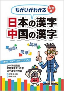日本の漢字 中国の漢字