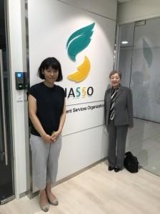 昨年開設したJASSOベトナム事務所を訪問