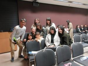 東京女子大学チームと:西荻住民として、とても興味深いプレゼンでした。