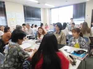 「ゆめまち分科会」の方々がビジターセッションに参加してくださいました。