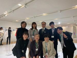 「つなぐ」チームの皆さんと、出演してくださった内山さん(浜松)と森さんと(イーストウエスト日本語学校)