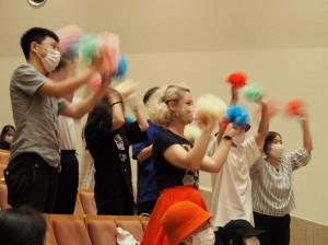 会場では、クラス代表への応援が熱く繰り広げられました
