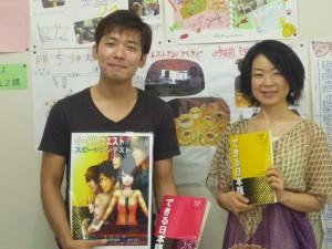 岡村さんと記念写真です。