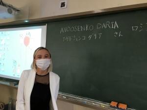 ダリアさん(教室で)