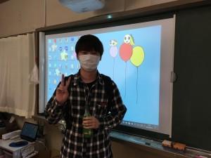 授業前のノさん
